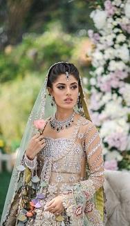 Pom poms   Wedding dress Details   Indian Bridal Fashion   Wedding Couture   Desinger wear