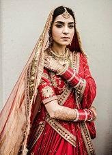 Red Bridal Dupatta   Kiran   Sabyasachi Mukherjee   Indian Bridal trends   Designer Wear