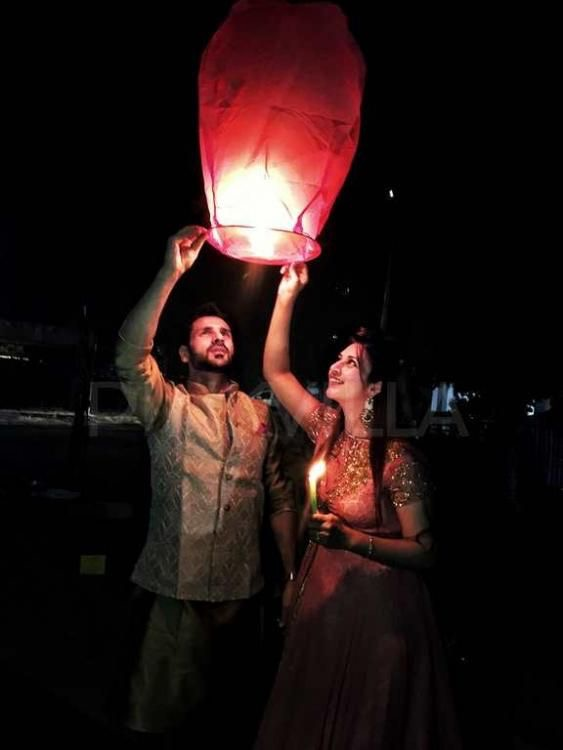 Pre Wedding shoot ideas | paper lanterns | Noise free Diwali | Couple goals | Trending new ideas | Getting married | Pre wedding shoot at Diwali | Budget Diwali
