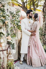 Pankhuri & Gobind | First Kiss | just Married | happily ever after | Romantic couple | indian wedding photography