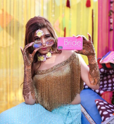 Aries bride | bridal style based on your sun sign zodiac sign | indian bride with matha patti | Indian bride with cool shades | golden bridal lehenga with cool shades | wedding dress for your zodiac sign | indian wedding photography #bridesofwittyvows #indianwedding #indianbride #bridewithsunglasses #swagbride #coolinidanbride #brideswithshades #wittyvows #zodiacsign #weddingdressforyourzodiacsign #zodiacbridalstyle #goldehenga #ariesbride #shimmerlehenga #goldenbridallehenga #bridallehengaswag #swaginidanbride