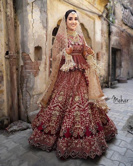 unique bridal lehenga designs