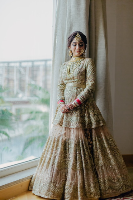 unique bridal lehenga designs
