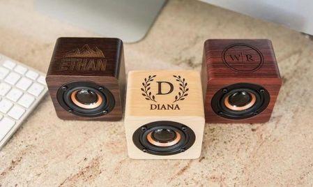 Trending Wedding Souvenirs | customized bluetooth speakers