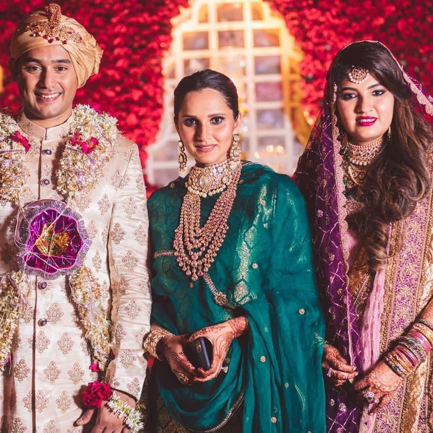 sania mirza | sania mirza sister | anam mirza's wedding