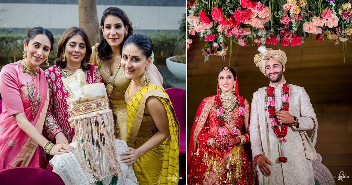Armaan Jain's wedding photos