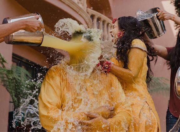 common haldi function | Wedding Trends for Haldi Ceremony