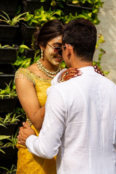haldi ceremony | Stunning Gujarati Wedding