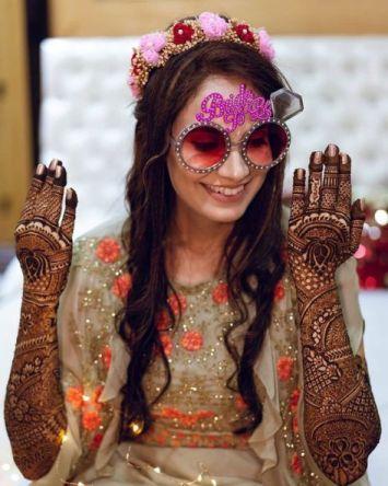 Indian bride at her mehendi ceremony   Mehendi Function Mistakes