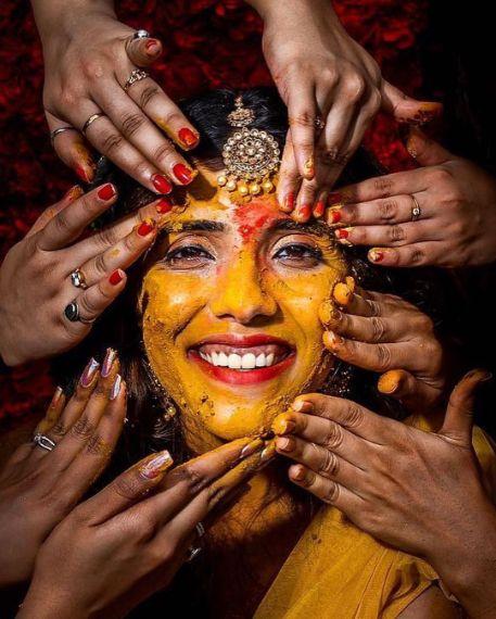 amazing haldi day photography | Wedding Trends for Haldi Ceremony