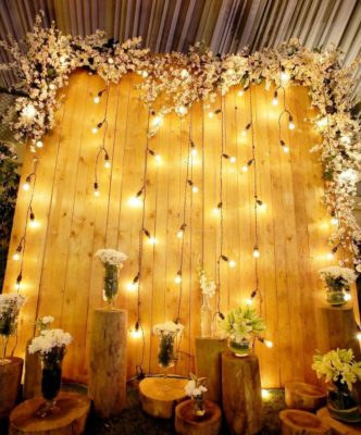 fairylights indian wedding decor #indianweddings #weddingdecor #wcoronavirus #homewedding