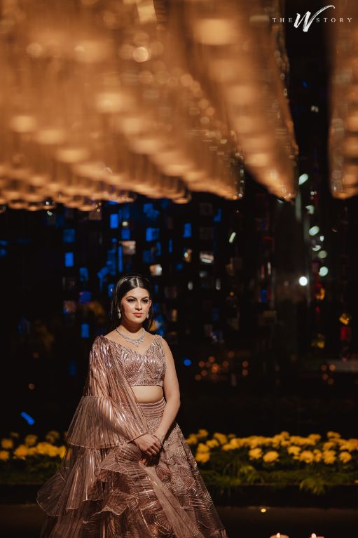 indian bride posing for pictures | Destination Wedding in Jaipur