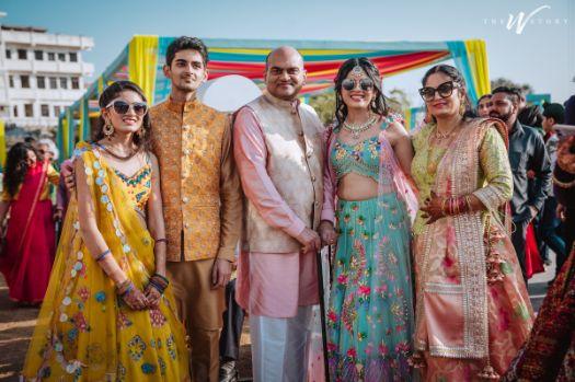 brides family | Destination Wedding in Jaipur