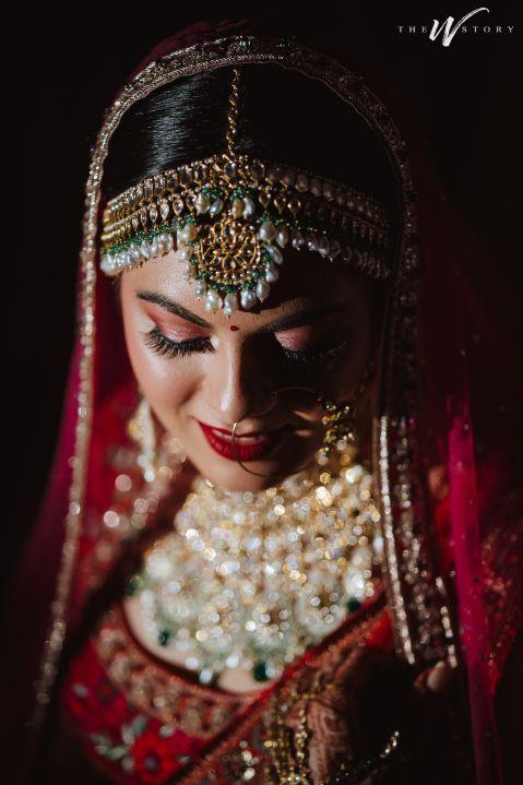 indian bridal jewellery } stunning mathapatti