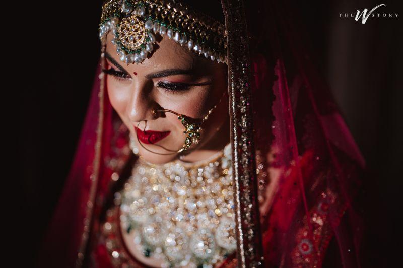 indian bridal nath | Destination Wedding in Jaipur