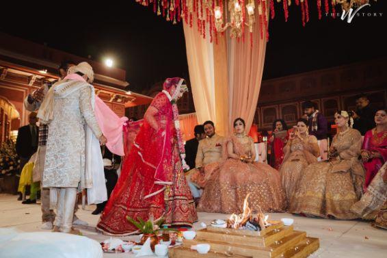 phere ceremony | Destination Wedding in Jaipur