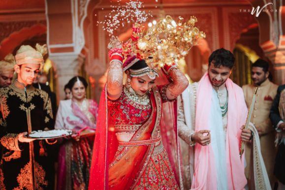 vidai ceremony rituals | Destination Wedding in Jaipur