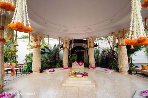 mandap decor | wedding in Kerala
