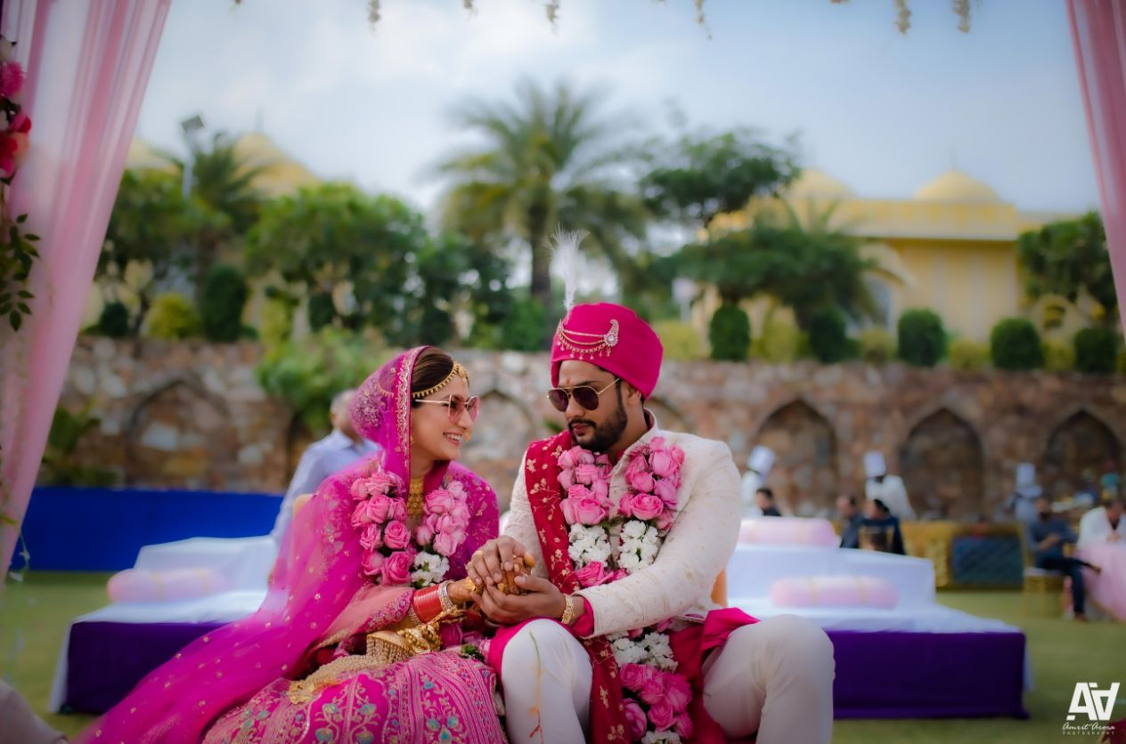 Indian couple wedding diaries