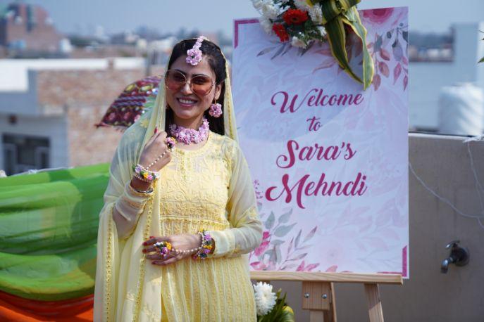 mehendi ceremony | sign board |