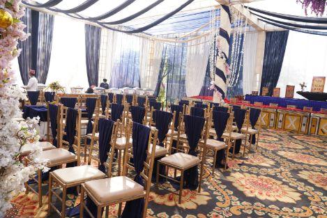 indian wedding | chair decor ideas