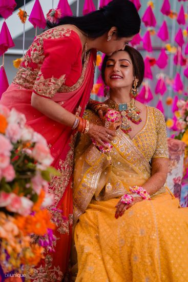 mother of the bride photos | floral jewellery to drool over