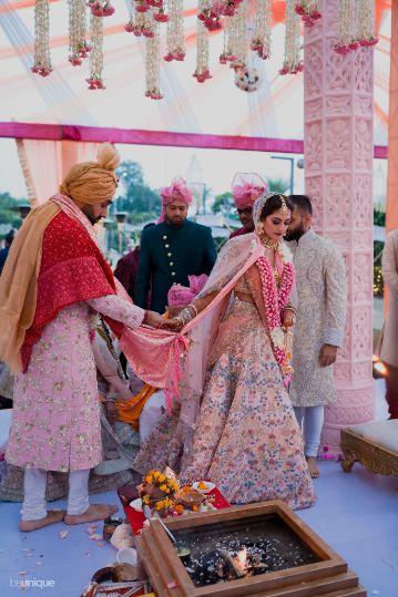 pera ceremony | Jaipur Wedding