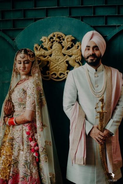 Sikh Wedding in Punjab | Rimple & Harpreet Wedding Lehenga