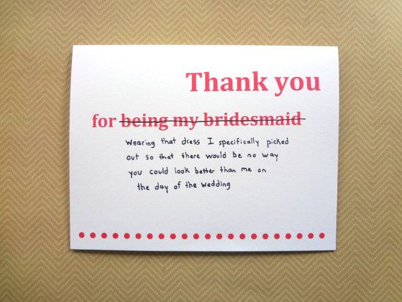 INDIAN bridesmaid thankyou note | bridesmaid gifts to give to indian sister and bridesmaids | Wittyvows |