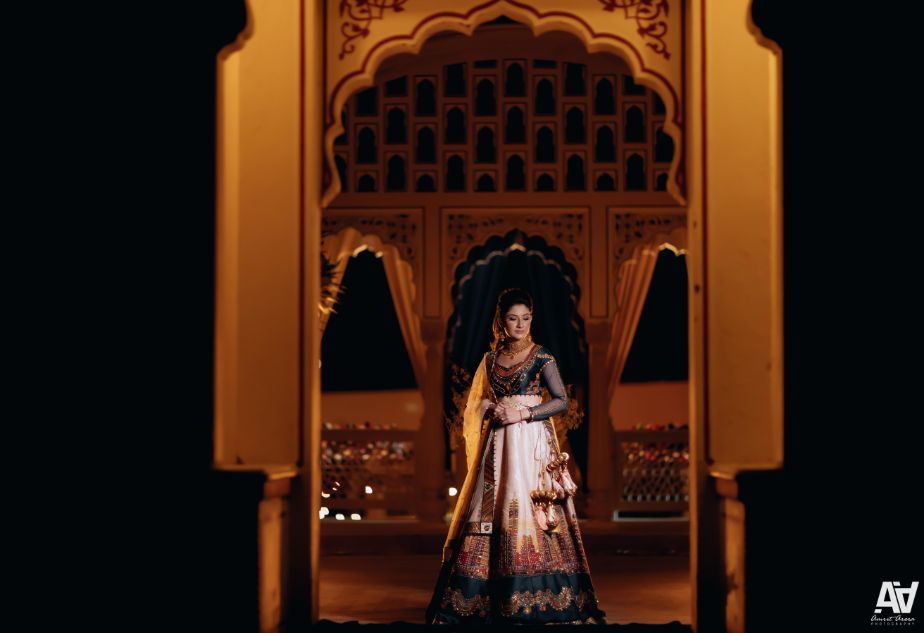bridal portarits | indian wedding photography