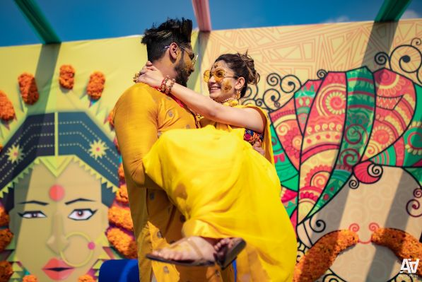 Fab Matching Outfit Ideas  | haldi ceremony
