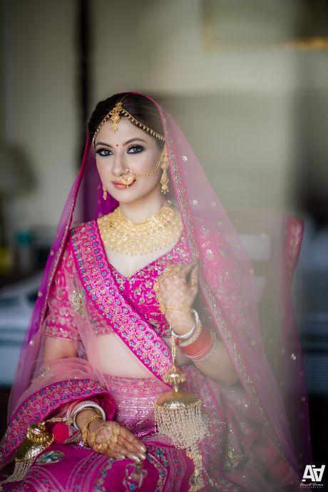 indian bridal portraits | Fab Matching Outfit Ideas