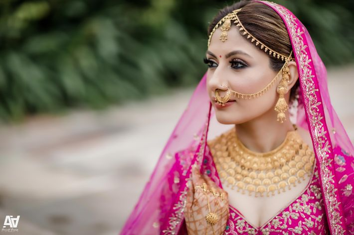 indian bridal jewellery | Fab Matching Outfit Ideas