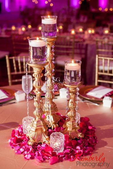 Centre Places at Indian Weddings |Budget decor ideas to get fab wedding decoration with a tent wala also!