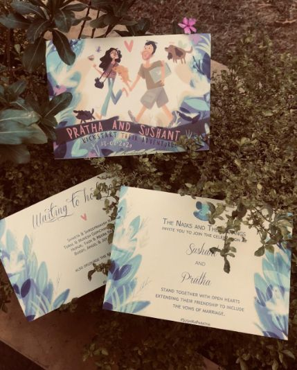 wedding invites from the eco friendly wedding