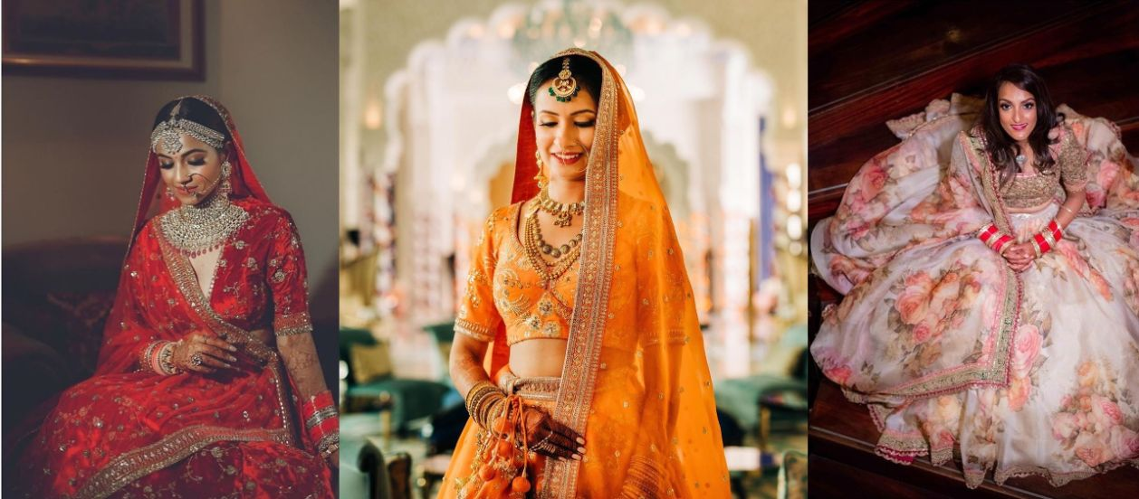 beautiful brides spotted wearing sabyasachi lehengas