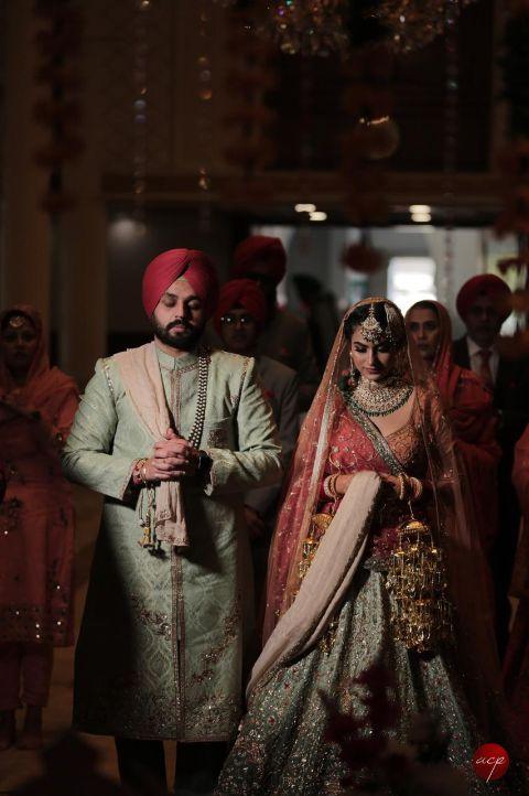 sikh ciuple   sikh wedding   anand karaj ceremony