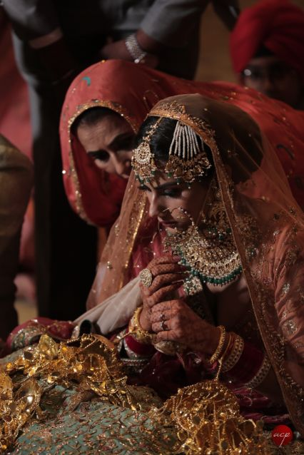 indian bride   bridal jewellery   mother of the bride