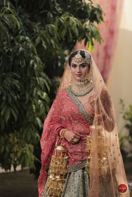 sikh bride | beautiful kaleera | indian bridal jewellery