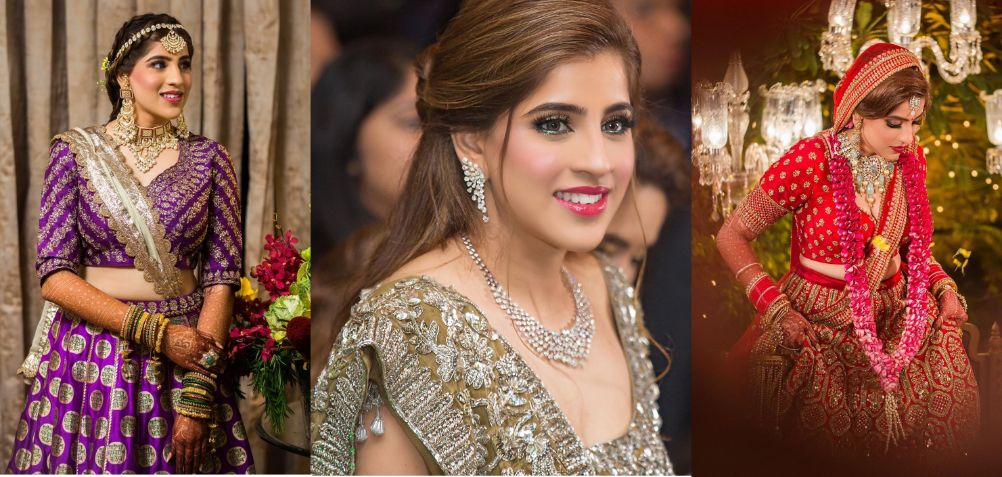 sabyasachi bride with the prettiest wedding outfits