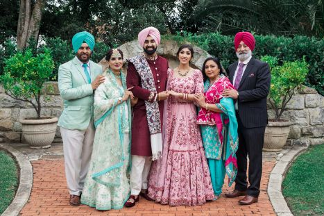 indian wedding family photography ideas