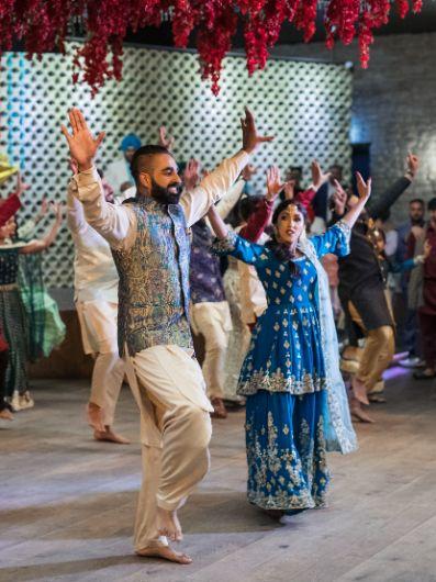 couple dance   sikh wedding