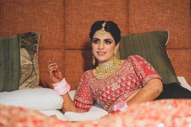indian wedding diaries | bridal photoshoot ideas | Anita Dongre Wedding Lehenga