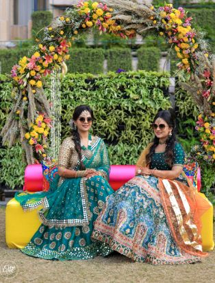 mehendi outfit | outfit details
