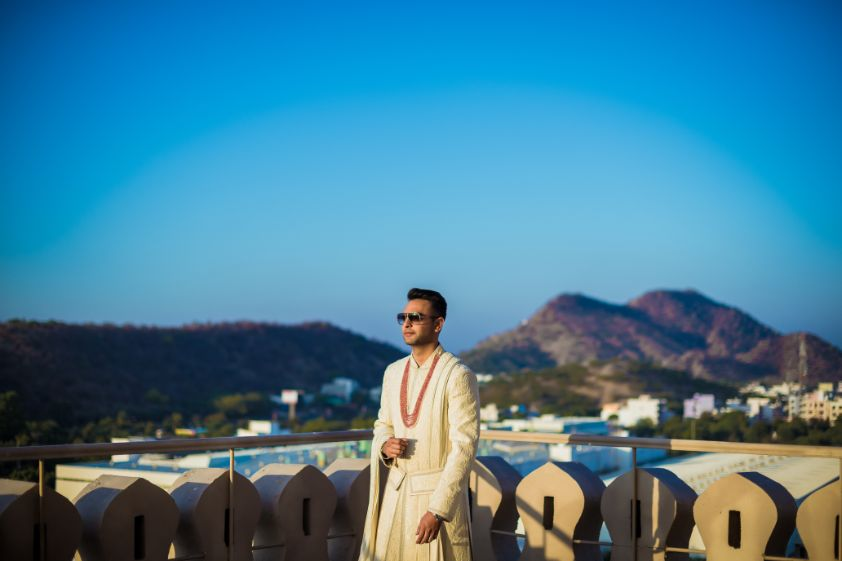 indian groom photo shoot ideas | Fun Jaipur Wedding