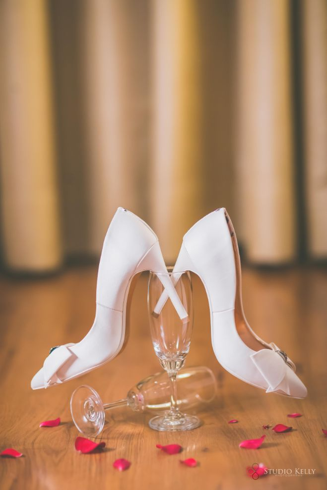 bridal shoes | recption day | Stunning Reception Look