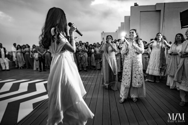 black and white Indian wedding photography