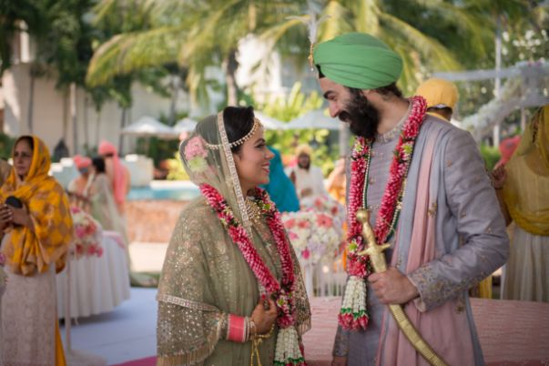 candid couple capture at their wedding