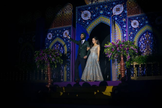 grant couple entry | indian weddings