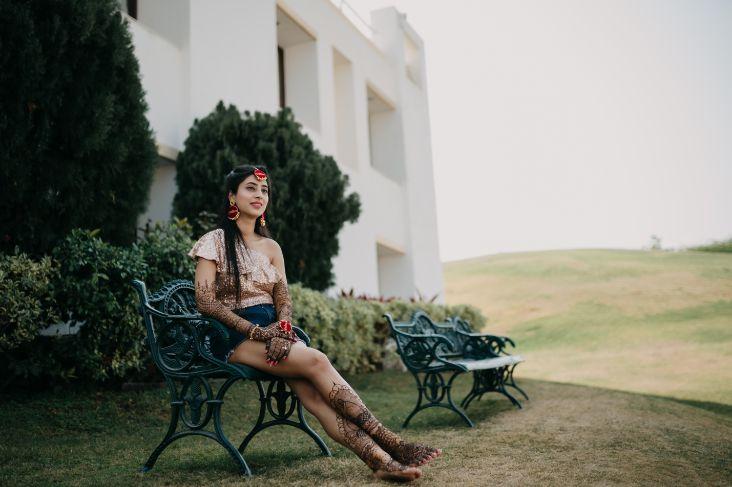 bridal henna photography